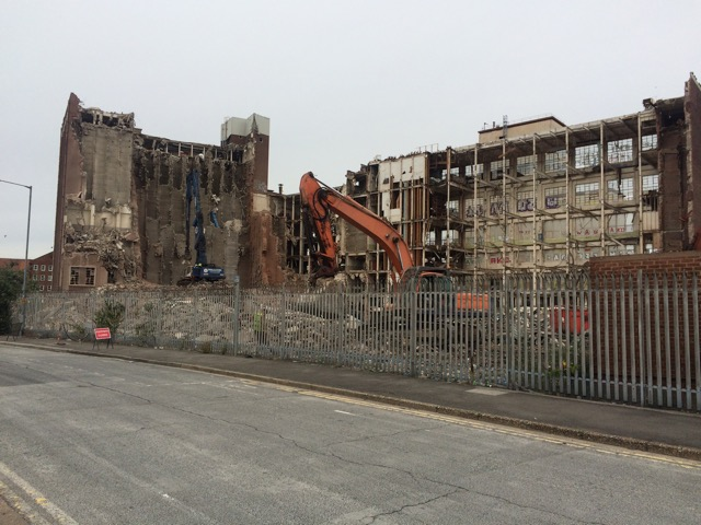 Manor Mill Demolition